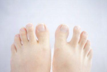 足の指を広げるだけで得られる効果