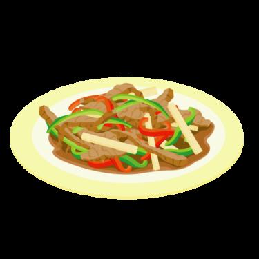 レンジでチンする、簡単チンジャオロースのレシピ
